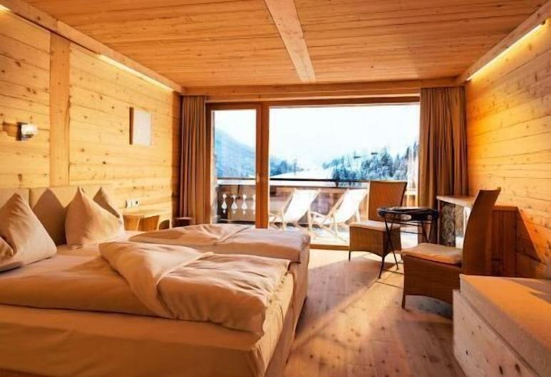 ART & SKI-IN HOTEL Hinterhag, Saalbach-Hinterglemm, Habitación doble, vista a la montaña, Habitación