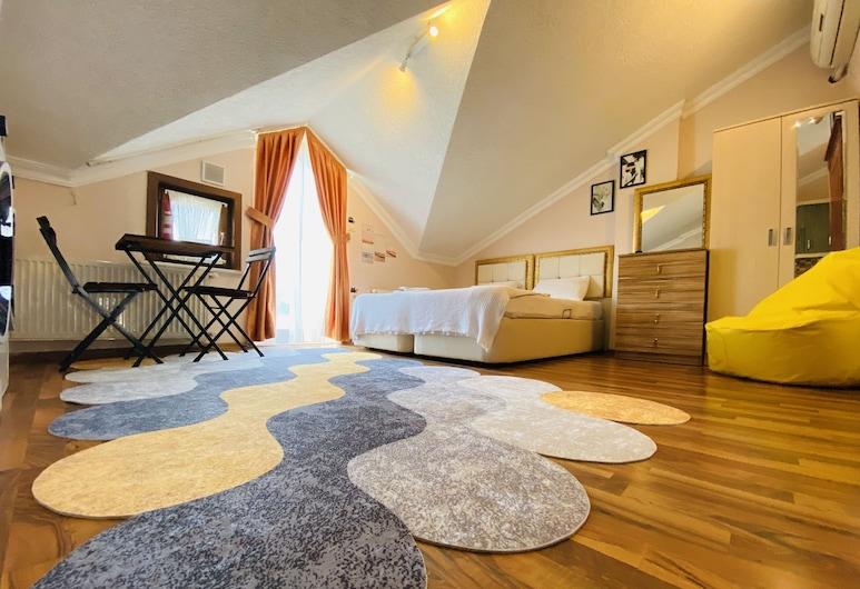 Nature Hotel Apartments, Istanbul, Ateliérový apartmán typu Deluxe, Izba