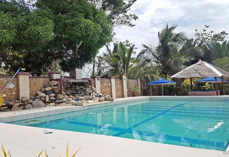 Cooper's Beach Resort, Puerto Princesa, Venkovní bazén