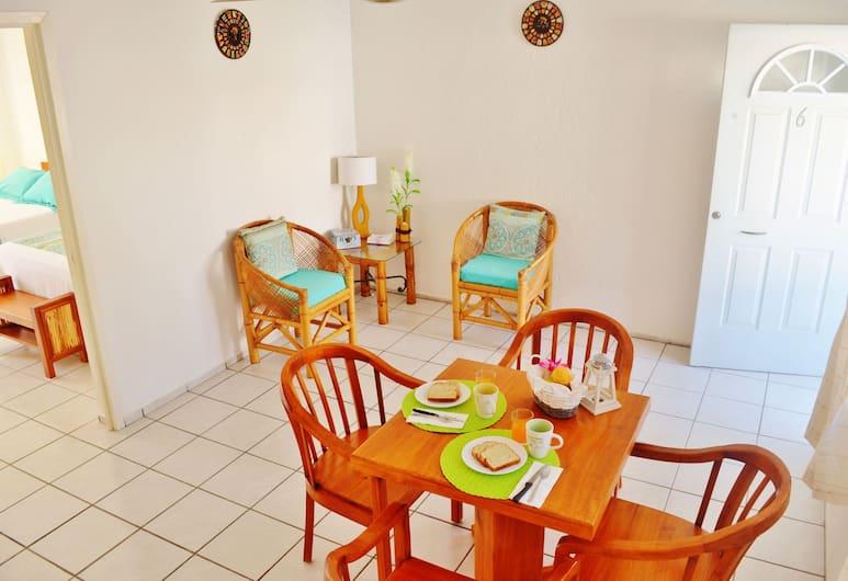 Hotel Eden, Puerto Morelos, Economy Apartment, 1 Bedroom, Kitchen, City View, Living Room