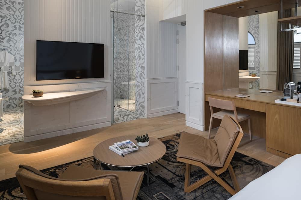 豪華客房, 1 張特大雙人床 - 客廳