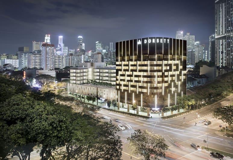 Dorsett Singapore, Singapura, Bagian luar