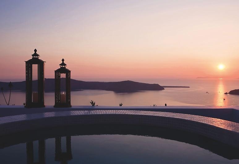 Remezzo Villas, Santorini, Honeymoon Room, Guest Room View