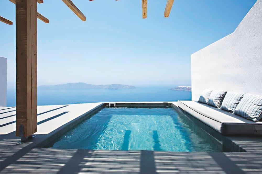 Suite, privat basseng - Utsikt fra gjesterommet