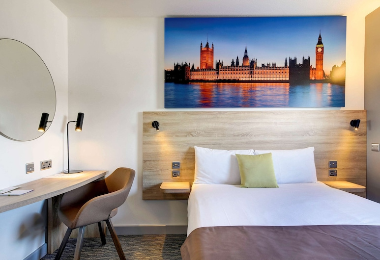 ibis Styles London Excel, London, Room, 1 Queen Bed, Connecting Rooms (The Interconnecting Queen), Guest Room