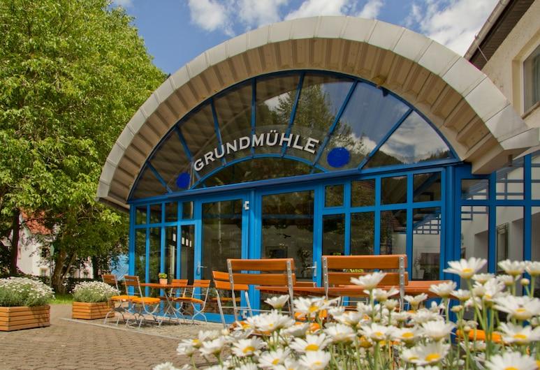 Hotel Garni Grundmühle, Bad Schandau, Fassaad
