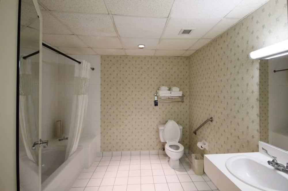 חדר, מיטת קווין, נגישות לנכים, ללא עישון - חדר רחצה