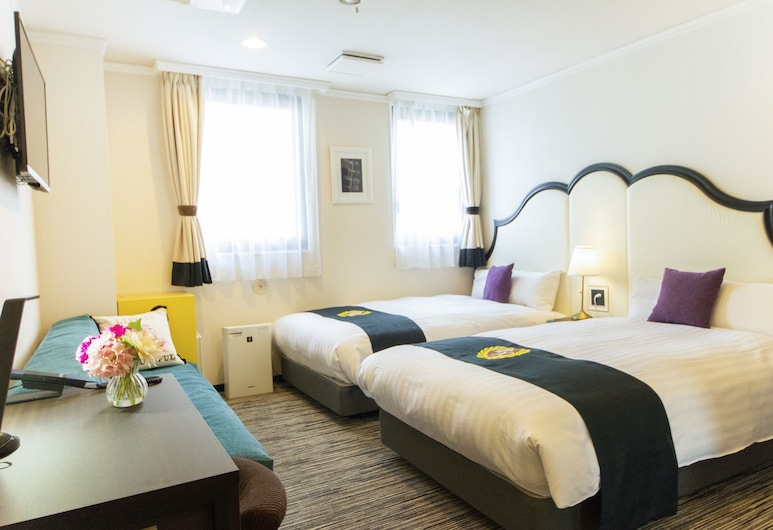 Grand Park Hotel Panex Tokyo, Tokyo, Deluxe Twin Room, Non Smoking, Guest Room