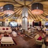 Lounge i lobbyn
