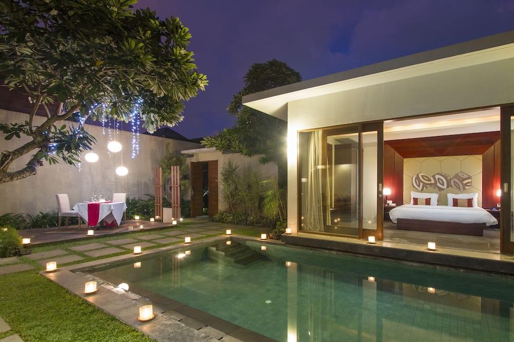 Villa, 2 Bedrooms, Private Pool - Pemandangan Bilik Tamu