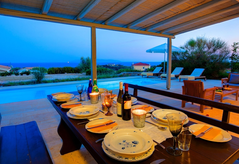 Ideales Resort, Kefalónia, Vila typu Deluxe, 3 spálne, Terasa