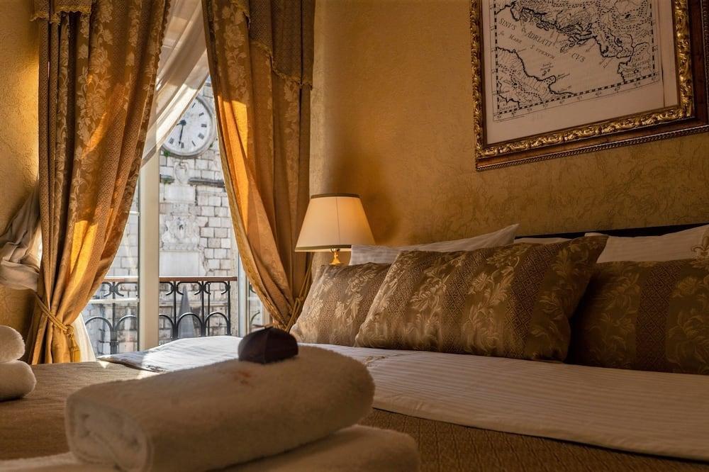 חדר זוגי, נוף לעיר - חדר אורחים