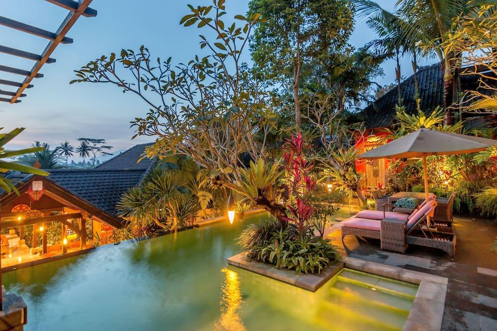 Prezidenta villa, četras guļamistabas, privāts baseins - Viesu numurs