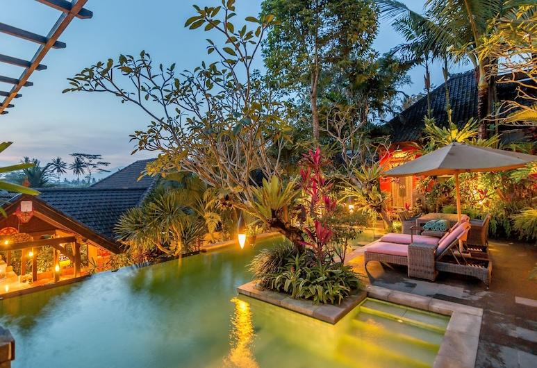 Bidadari Private Villas & Retreat, Ubud, Prezidentská vila, 4 ložnice, soukromý bazén, Pokoj
