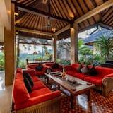 Ģimenes villa, četras guļamistabas, privāts baseins - Dzīvojamā zona