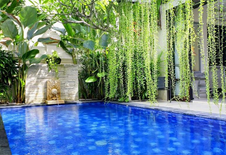 庫塔阿維拉別墅酒店, 庫塔, 別墅, 1 間臥室, 私人泳池, 陽台