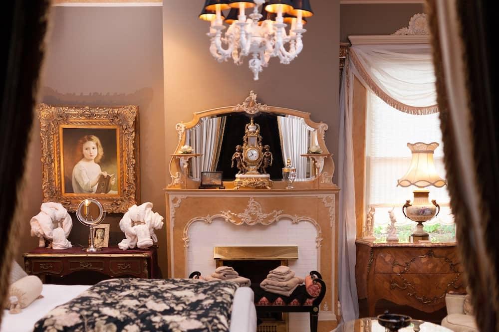 Royal soba, 1 queen size krevet, pristup za osobe s invalidnošću, kuhinja - Dnevni boravak