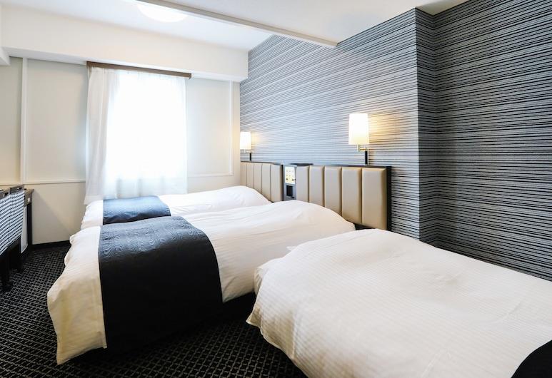 APA Hotel Sapporo Susukino-Ekimae, Sapporo, Trojlôžková izba, nefajčiarska izba, Hosťovská izba