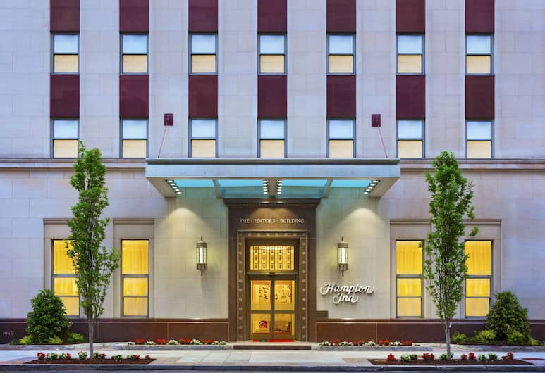 Hampton Inn Washington, D.C./White House, Washington, Otelin Önü - Akşam/Gece