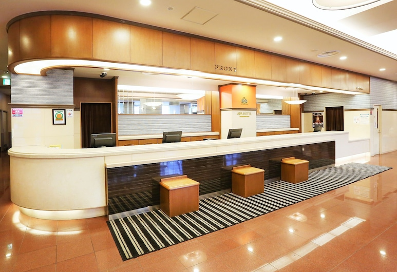 APA Hotel Sapporo Susukino-EkiNishi, Sapporo, Recepce