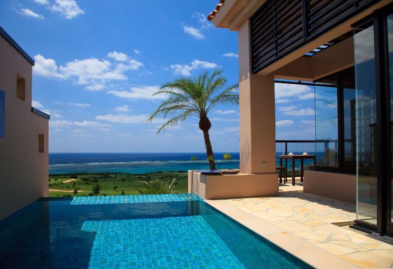 Shigira Bayside Suite Allamanda, Mijako-sziget, Deluxe villa, nemdohányzó, medence melletti, Parti/óceáni kilátás
