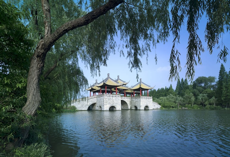 Shangri-La Hotel, Yangzhou, Yangzhou, Aerial View