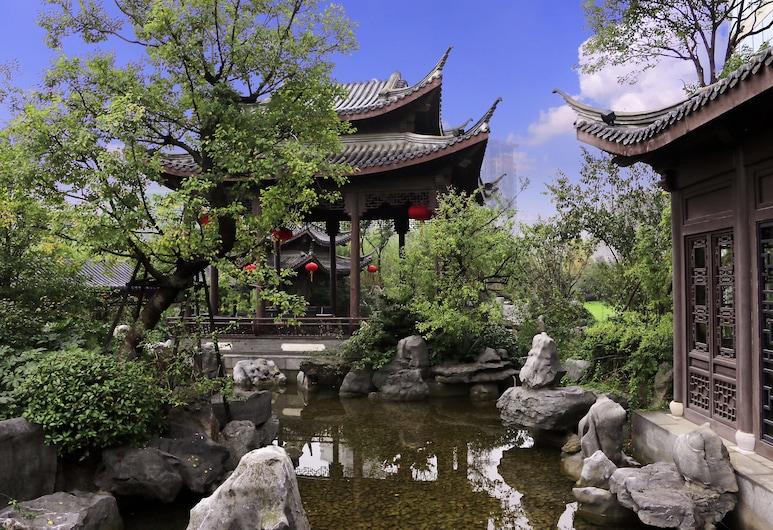 揚州香格里拉大酒店, 揚州市, 庭院