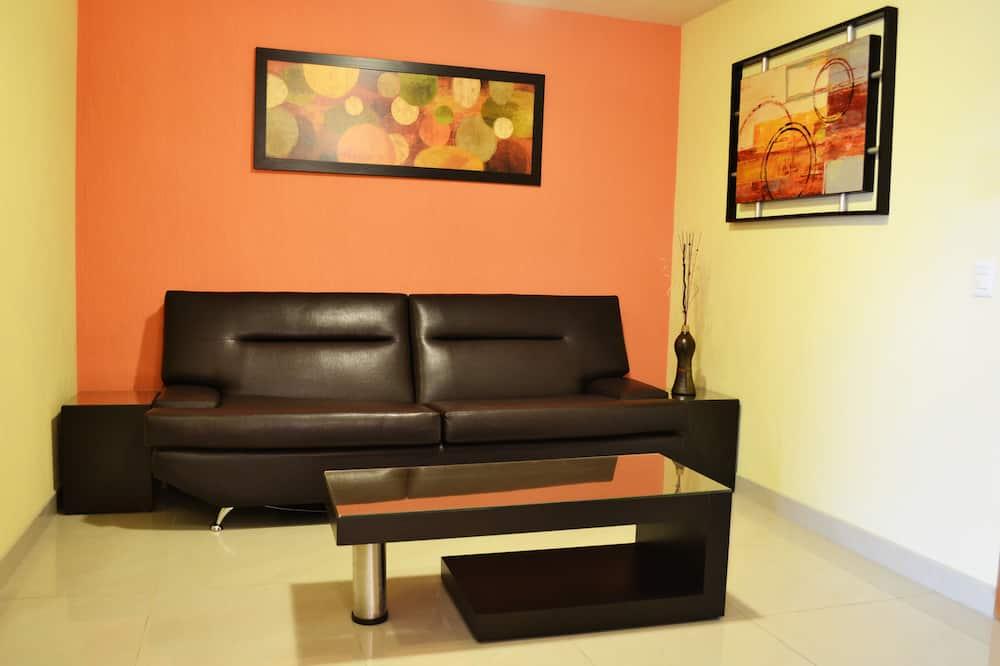 Studiové apartmá typu Junior - Obývací pokoj