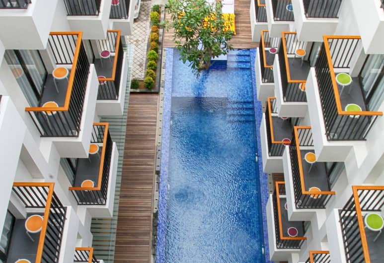 Ping Hotel Seminyak Bali, Seminyak, Vista do hotel