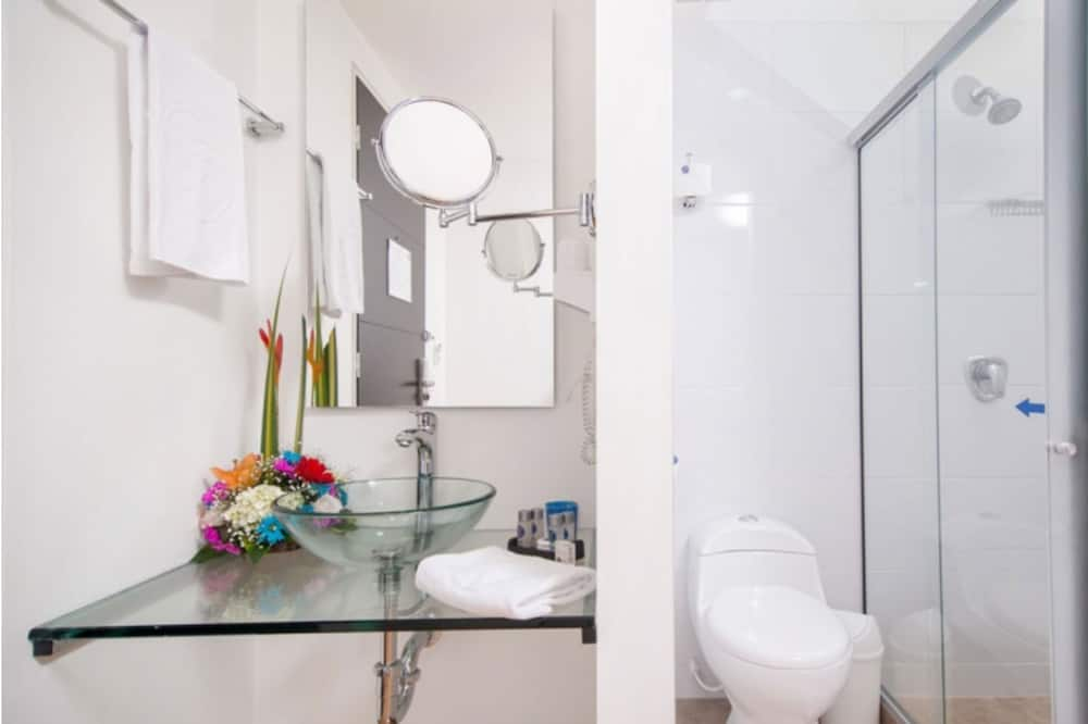 Одномісний номер з двоспальним ліжком - Ванна кімната