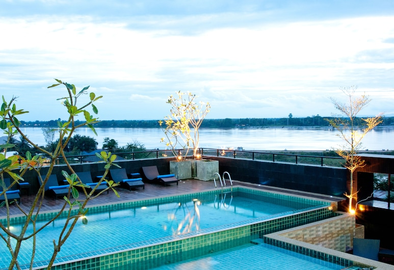 Rashmi's The Plaza Vientiane, Vientiane, Rooftop Pool