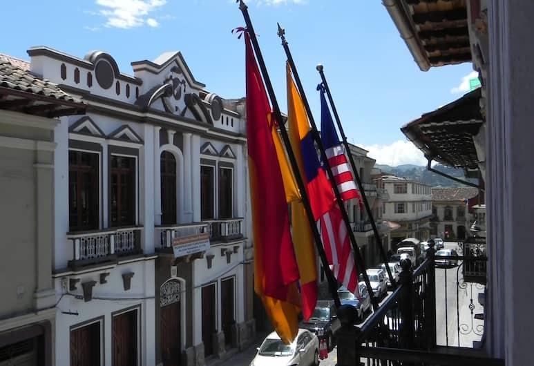 Hotel Vieja Mansion, Cuenca, Vista dall'hotel