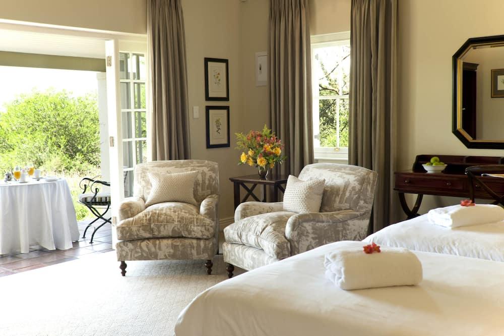 Luxe suite - Woonruimte