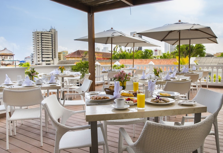 Allure Chocolat by Karisma Hotels & Resorts, Cartagena, Tempat Makan Luar