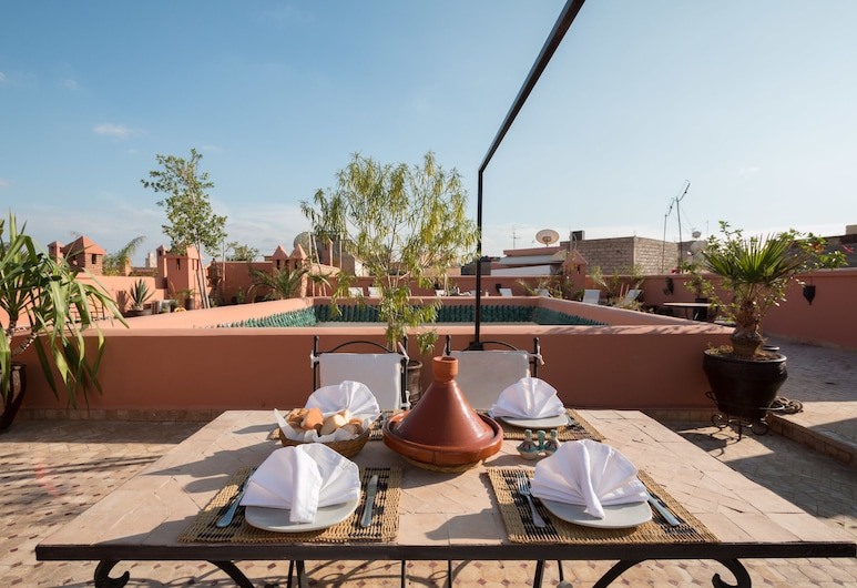 Origin Hotels - Riad El Faran, Marrakech, Outdoor Dining
