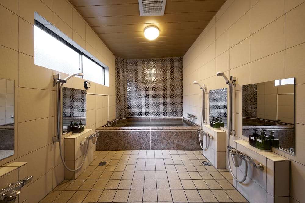 Vienvietīgs numurs, japāņu guļvieta, smēķētājiem, koplietojuma vannasistaba - Vannasistaba