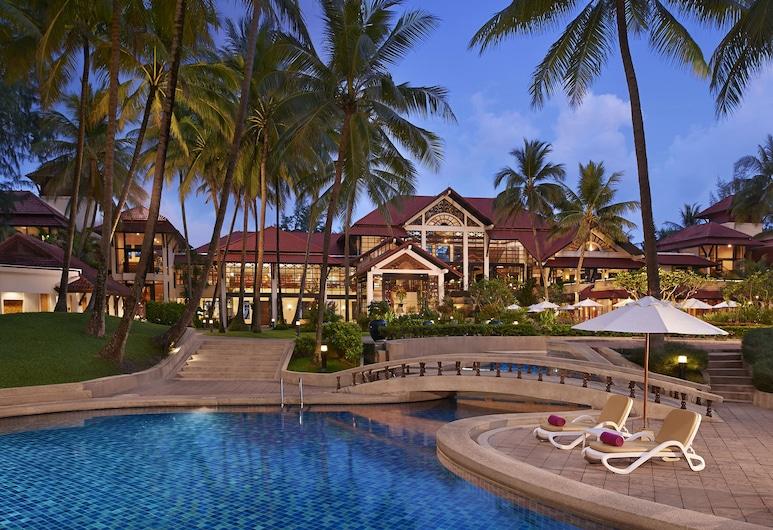 都喜天闕拉古那泳池別墅, Choeng Thale, 室外泳池