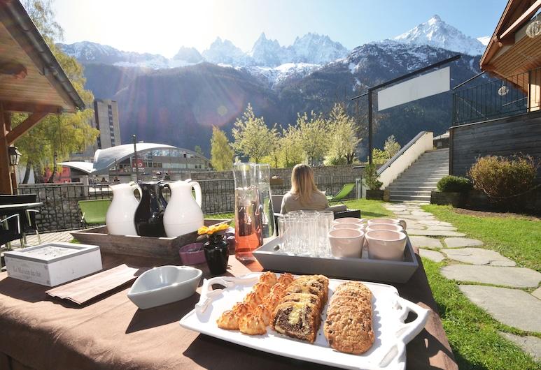 Hôtel de l'Arve, Chamonix-Mont-Blanc, Outdoor Dining
