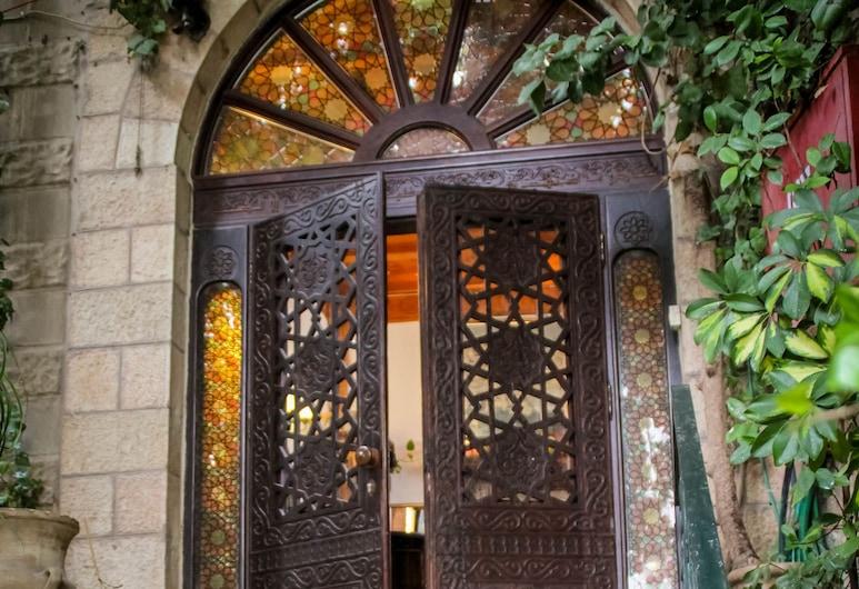 מלון ירושלים, ירושלים, הכניסה למלון