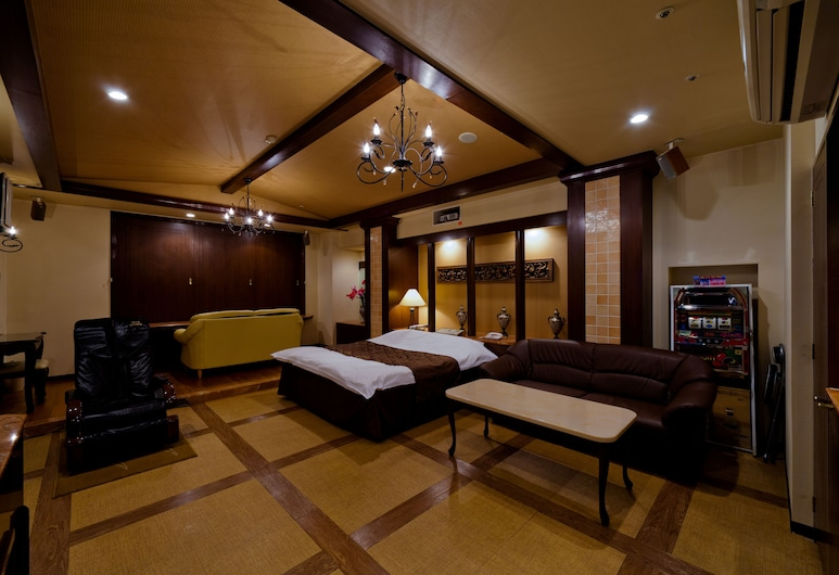 Fine Garden Toyonaka Osaka Interntl Airport - Adults Only, Toyonaka, Standard Room, 1 Katil Raja (King) (Couples Hotel), Bilik Tamu
