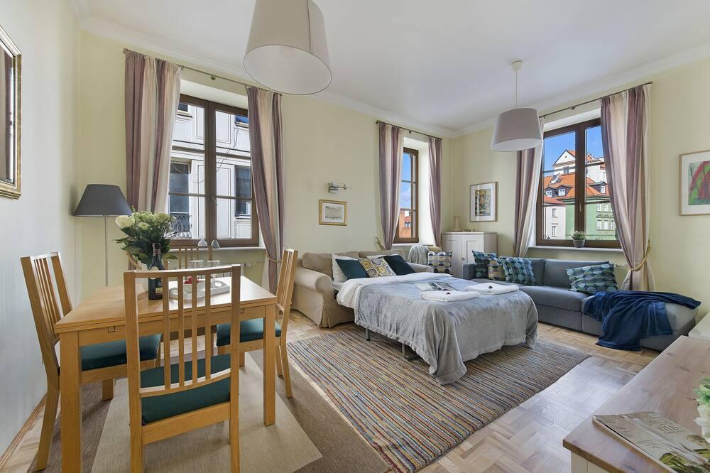 Departamento de lujo, 2 habitaciones (at 9 Podwale Street) - Sala de estar