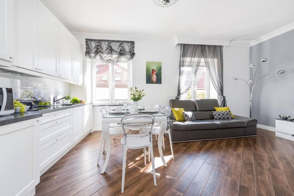 Departamento superior, 1 habitación (at 9 Podwale Street) - Sala de estar