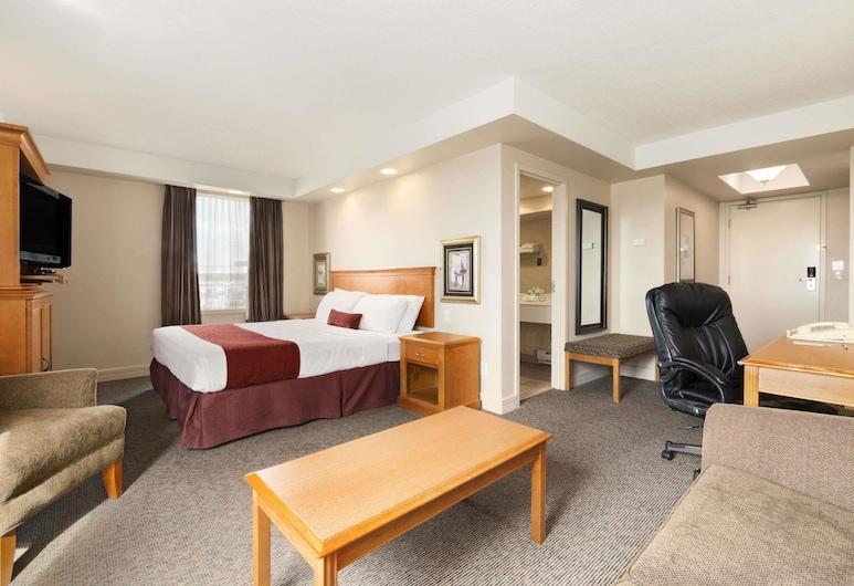 Travelodge by Wyndham Spruce Grove, Spruce Grove, Studio-suite - 1 kingsize-seng - ikke-ryger, Værelse