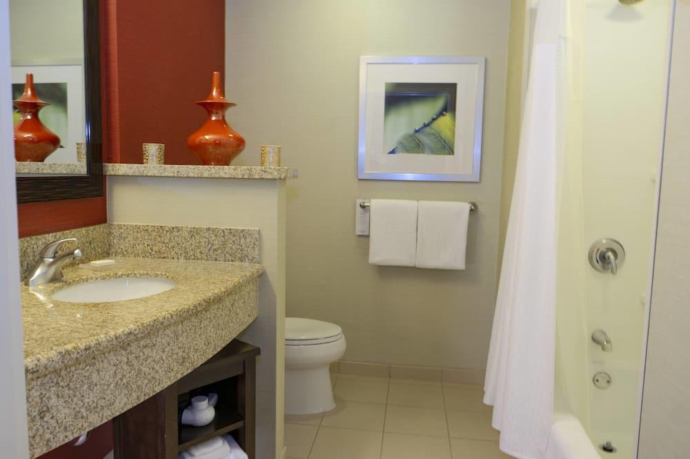 Habitación, 1 cama de matrimonio grande, no fumadores - Cuarto de baño