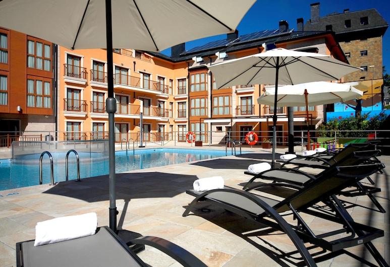 Apartahotel & Spa Jacetania, Jaca, Outdoor Pool