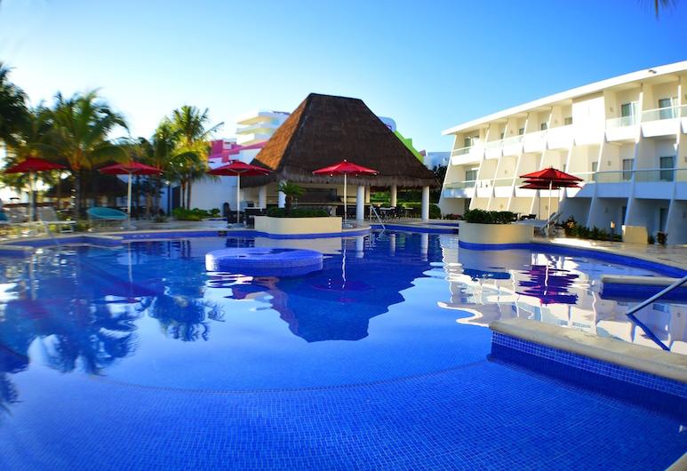Cancun Bay Resort - All Inclusive, Cancun, Útilaug