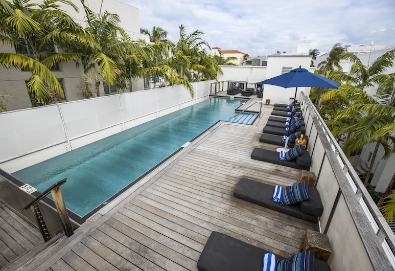 ポッシュ サウス ビーチ ホステル サウス ビーチ グループ ホテル, マイアミ ビーチ, 屋上プール