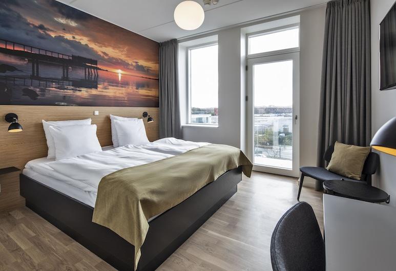 Kompas Hotel Aalborg, Aalborg, Rom – superior, balkong, Gjesterom