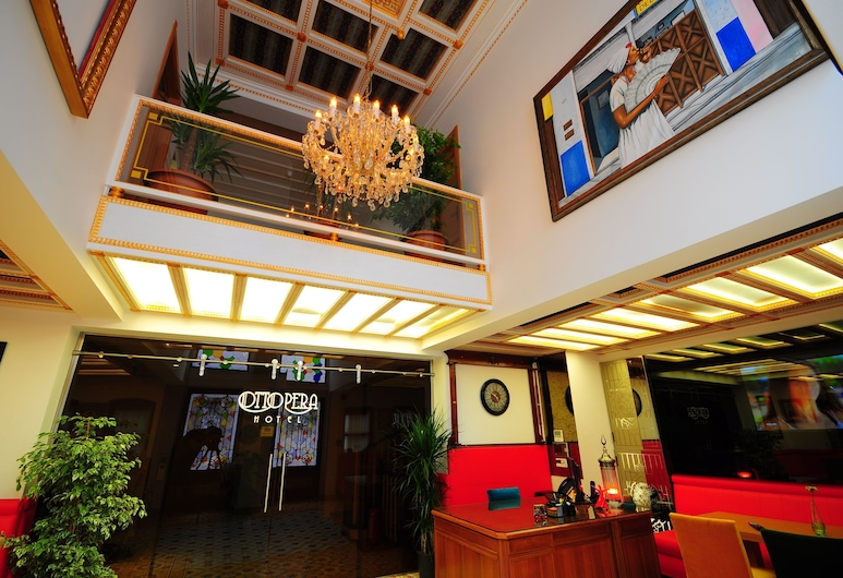 Ottopera Hotel, Istanbul, Interior Entrance