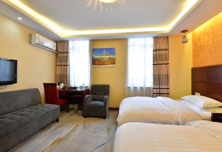 Irene Boutique Hotel Jinshu Branch, Shanghai, Family Room, Guest Room